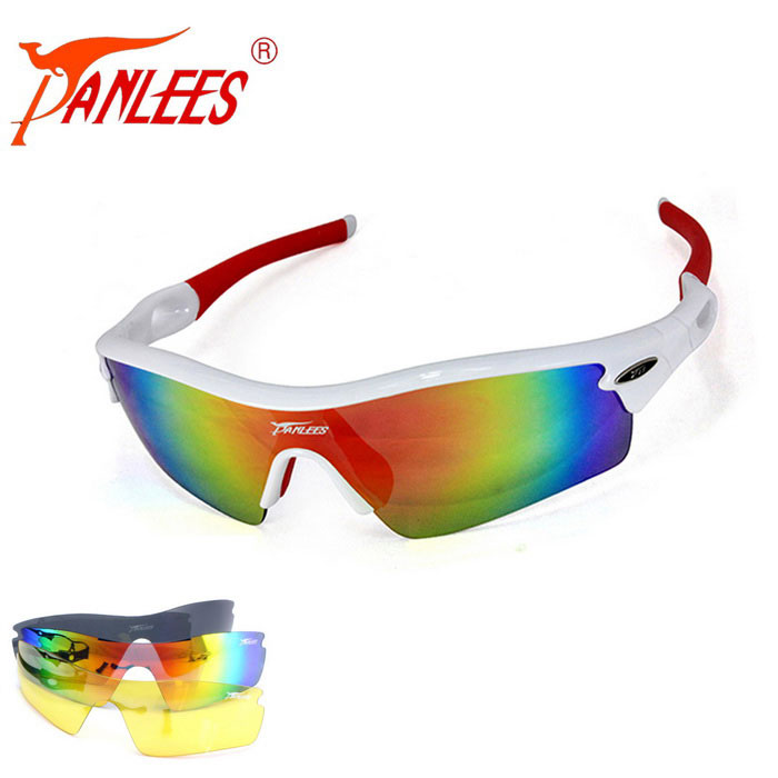 Panlees JH0028 3 Lens Interchangeable Sports Sunglasses - MulticoloredSport Sunglasses<br>Frame ColorShiny white + redLens Color3 lensesModelJH0028Quantity1 DX.PCM.Model.AttributeModel.UnitShade Of ColorWhiteFrame MaterialPCLens Material1 polarized lens + 2 PC lensesProtectionUV400GenderUnisexSuitable forAdultsFrame Height4.3 DX.PCM.Model.AttributeModel.UnitLens Width14 DX.PCM.Model.AttributeModel.UnitBridge Width1.5 DX.PCM.Model.AttributeModel.UnitOverall Width of Frame15 DX.PCM.Model.AttributeModel.UnitCertificationCEPacking List1 * Glasses frame1 * Polarized lens2 * PC lenses1 * Cleaning cloth1 * Glasses bag1 * Strap1 * Zippered bag<br>