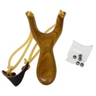 Outdoor Recreational Toy Slingshot - Yellow + Mufti-Color