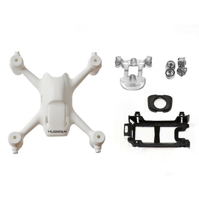 Hubsan H107C + -01 Body Shell Kit Hubsan H107C + RC Quadcopter -Valkoinen