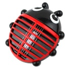 Lovely Animal Ladybug Shape LED Mosquito Killing Lamp - Black + Red