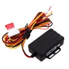 Waterproof Real Time GPS GSM Car Vehicle Tracker - Black