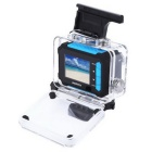 "REMAX SD01 1.5"" Waterproof Shake-proof Sports Camera - Blue + Black"