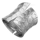 Unisex Super Cool 8.4cm breites Armband - Silber