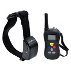 300m Controlled Adjustable Barking-Stop Dog Training Aid - Black
