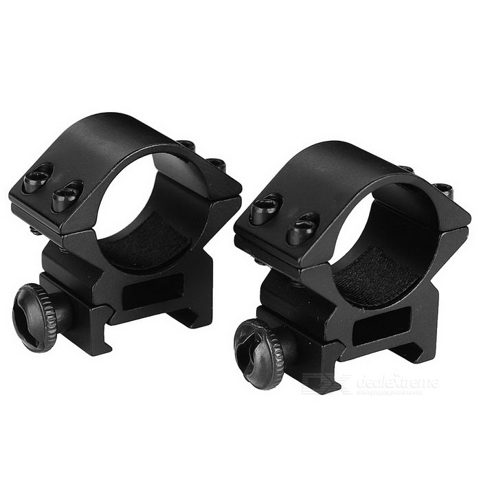 X013 25.4mm Ring Gun Sight Scope Mount for AK - Black (2PCS)Gun Mounts/Rails<br>Form ColorBlackModelX013MaterialAluminum alloyQuantity1 DX.PCM.Model.AttributeModel.UnitGun TypeAK and other gun models with 22mm rail; 25.4mm gun scopes and flashlightsRail Size22mmMount TypeWeaverRing Diameter25.4mmPacking List1 * Scope mount (25.4mm caliber / 22mm rail)1 * Allen wrench<br>