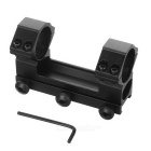 L3007 30mm Dubbelringar Gun Sight Scope Mount för M4A1 - Svart