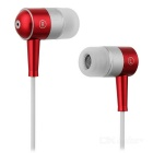 Ear Ear Stereo Earbuds (3,5mm Metallic Red)