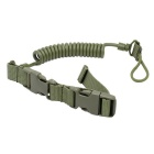 Outdoor Tactical Pistol Safety Harness / Dog Leash - Army Green(120cm)