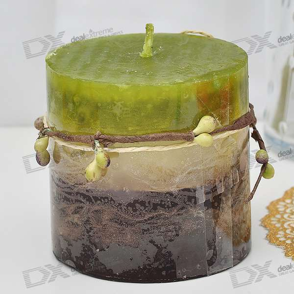 Hami Melon Scented Aromatic Candle - Green