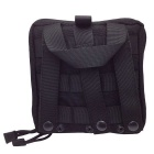 Outdoor Tactical Military Digital Accessories Hand Bag - Black