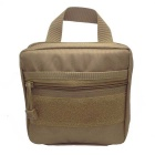 Outdoor Tactical Military Digital Accessories Hand Bag - Mud Color