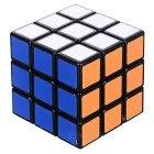 ShengShou 3*3*3 Black Background Auroras IQ Cube - Black + Multi-Color