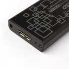 DIEWU USB 3.0 to M.2 NGFF SSD Converter Adapter Enclosure Case - Black