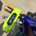 IZTOSS L1017 Motorcycle Scooter Throttle Handle Lock - Yellowish Green