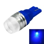 YouOKLight T10 1.5W 70lm LED Car Side Lamp Blue Light (DC 12V / 10PCS)