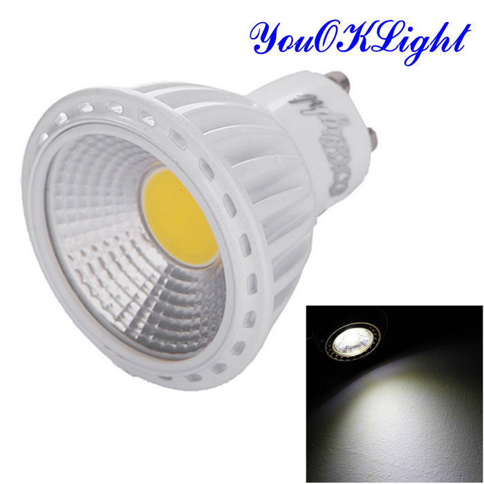 YouOKLight YK1656 GU10 6W Dimmable Cold White Light COB LED Spotlight