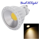YouOKLight YK1659 GU10 6W Warm White LED Spotlight - White + Yellow