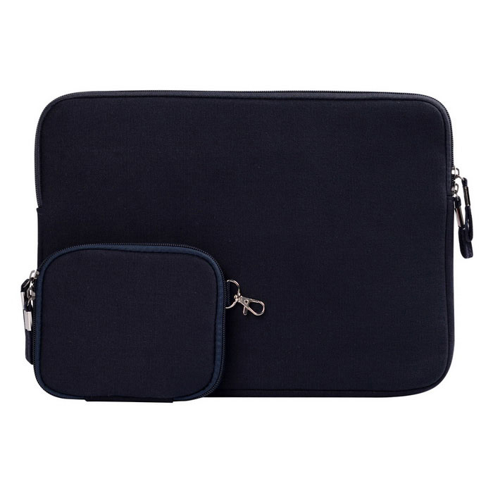 "Denim laptop interior saco definido para apple macbook air / pro 13"" - azul marinho"