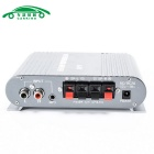 A-200 Hi-Fi Stereo Audio Amplifier for Car / Motorcycle - Silvery Grey