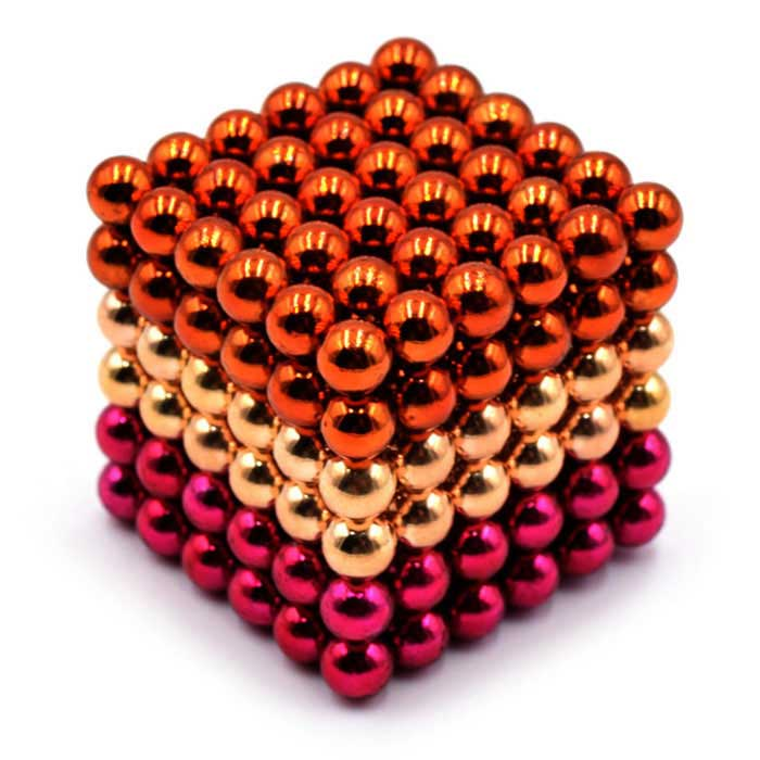 5mm Puzzle Magnetic Beads - Orange + Yellow + Deep Pink (216 PCS)Magnets Gadgets<br>Form ColorOrange + yellow + deep pinkMaterialMagnetQuantity1 SetNumber216Suitable Age 5-7 Years,8-11 Years,12-15 Years,GrownupsPacking List216 * Magnets<br>