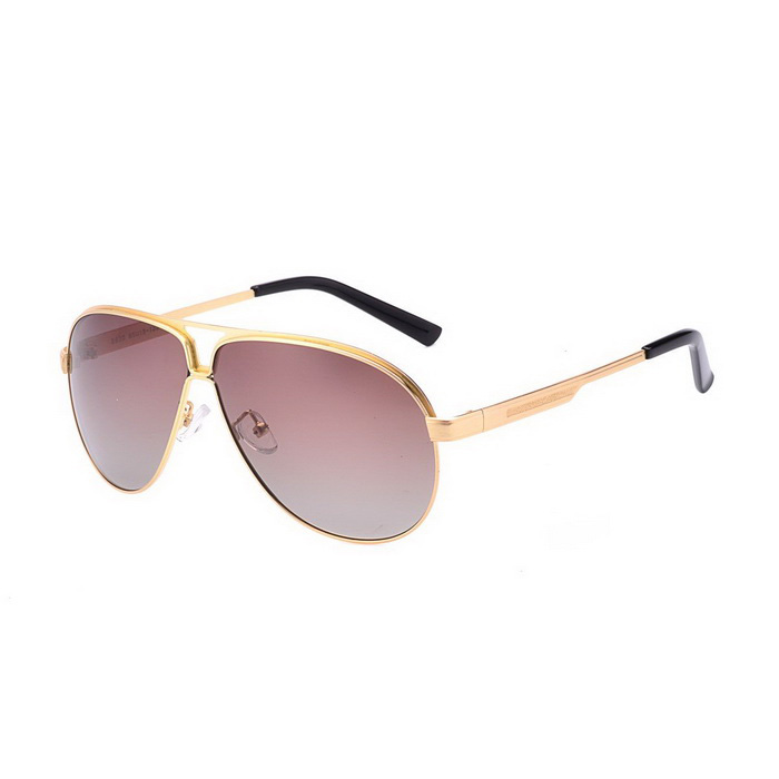 SENLAN 2830P3 Men's Polarized Sunglasses - Gold + Tawny