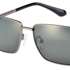 SENLAN 2840P2 Men's Polarized Sunglasses - Gun Color + Grey