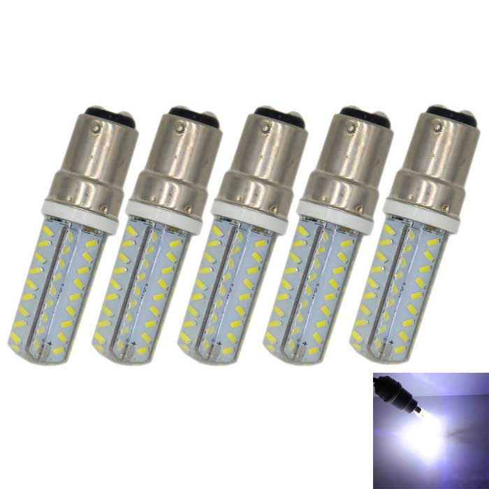 Regulable B15 4W 300lm bombilla blanca azulada del LED (ac 220V / 5PCS)