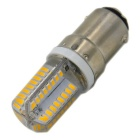 B15 3W 260lm 64 LED-Warm Bombillas blancas (CA 220V / 5PCS)