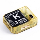 K-BAR 5.3.4PRO V2 3-Axis Gyro System w/ Speed Control for RC - Yellow