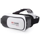 VR BOX Virtual Reality 3D Glasses Box - White + Black
