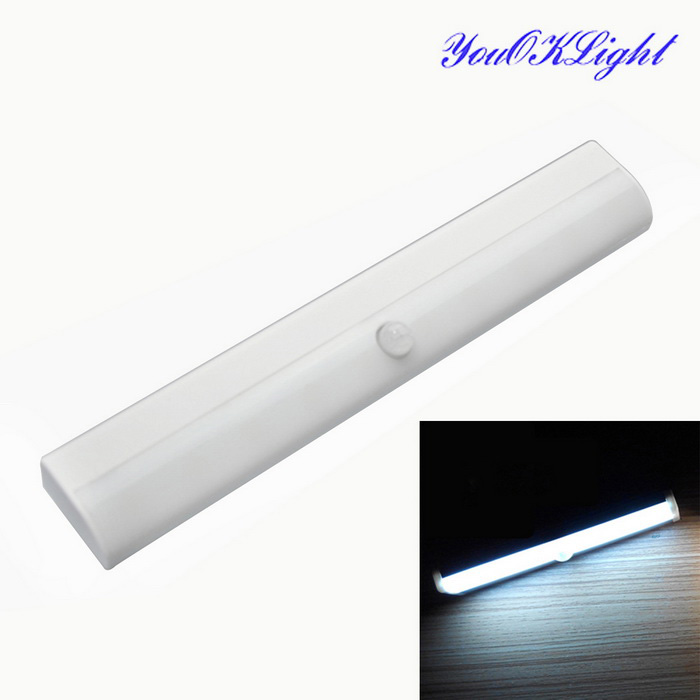 YouOKLight DIY Wireless Human Motion Sensor White Light Night Light