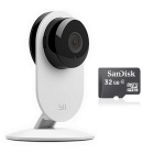 Xiaomi XiaoYi Night Vision Edition Smart IP Camera + 32GB TF - White