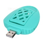 USB Electronic Mosquito Killer w/ Mosquito Repellent Pads - Green