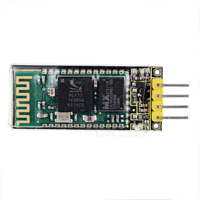 Keyestudio TS-30 Bluetooth Module for Arduino - Black + Yellow