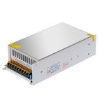 SAMDI DC 12V 40A 480W Switching Power Supply - Silver Grey