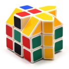 3*3*3 Irregular House Shape Cube - Green + Yellow + Multicolor