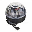 R / C Crystal Ball Music Player com colorido Som Sensor de luz - Preto