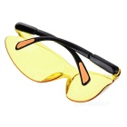 Windproof Dustproof PC Lens Cycling Goggles - Yellow + Black + Orange