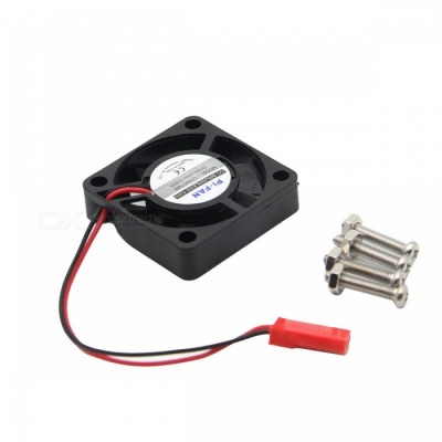 Active Cooling Mini Fan for Raspberry Pi 3 Model B / 2B / B+ - Black