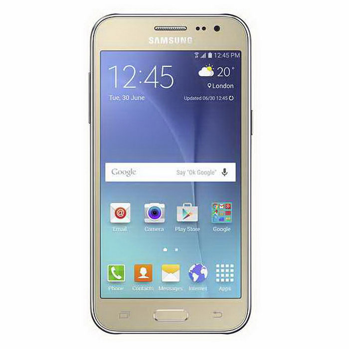 Samsung Galaxy J2 SM-J200H / DS dual sim 8GB - gold
