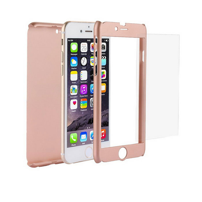 Full Body Coverage Protection Case for IPHONE 6 / 6S - Rose Gold