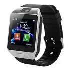 "DZ09 1.48"" TFT Touch Screen Smart Bluetooth Call Orologio - Nero"