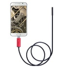 2 In 1 8mm Lens 2.0MP HD 720P 6-LED Android&PC Endoscope - Red (2m)