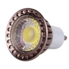 YWXLIGHT Dimmable GU10 6W calme blanc LED bulbe-Rouge Marron (AC110 ~ 130V)