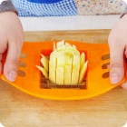 ZIQIAO Kitchen Device French Fries Potato Cutter Slicer (Random Color)