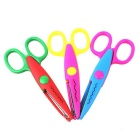 Art Security Interest Handmade Lace Scissors - Pink + Green