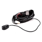 IZTOSS Off Road ATV LED Light Wiring Harness w/ 40 AMP Relay, Switch