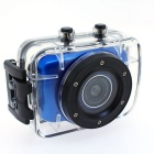 G260 2.0'' TFT 1080P FDH Waterproof Sports Camera - Blue + Black