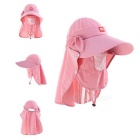 NatureHike Women's Outdoor Sunproof Quick-Drying Large Brim Hat - Pink