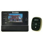 "IN-Color 3"" TFT LCD Digital Peephole Viewer / Doorbell - Black"